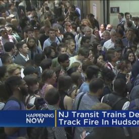 Track Fire Cause More NJ TRANSIT Nightmares