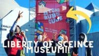 Liberty science center and Rubik's cube show!! (Vlog)