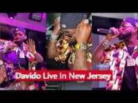 E Choke! Davido Live Performance In New Jersey 2021 || With New Jersey Biggest Jeweller