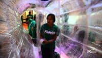 TapeScape build at Liberty Science Center