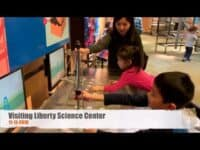 Visiting Liberty Science Center