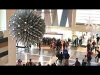 The second Largest Hoberman sphere in the world: Liberty Science Center USA