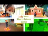 Travel vlog 3 | Indy loves Liberty Science Center
