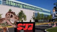 Liberty Science Center | The T.Rex Experience | Tour walk