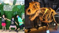 Liberty Science Center with Kids | T-Rex Dinosaur Fossils, Hot Wheels, Liberty State Park & More!