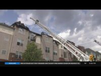 Fire Destroys Apartment Complex In Carteret, New Jersey