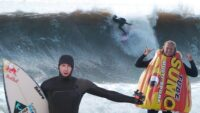 Jamie Obrien visits New Jersey for Mega Swell
