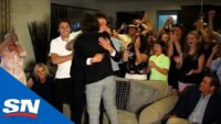 Hughes Family Goes Wild After New Jersey Devils Select Luke Hughes 4th Overall In 2021 NHL Draft