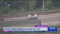 Fatal motorcycle crash on I-287 in New Jersey