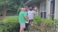 Community protests after man's racist rant caught on video