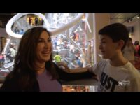 Jacqueline Laurita visits TapeScape at Liberty Science Center