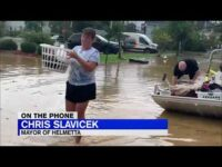 Henri's Wrath:  150 people rescued from homes after New Jersey flooding