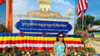 Khmer Festival At Wat Preah Buddha Rangsey In Voorhees Township New Jersey