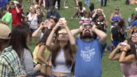 Great American Eclipse draws thousands to Liberty Science Center