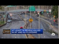 At least 14 people killed in New York, New Jersey flooding