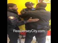 Jersey City police incident at Communipaw Domino's (March 27, 2018)
