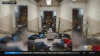 Photos Appear To Show Overcrowded Homeless Shelters After City's Efforts To Get Individuals Off Subw